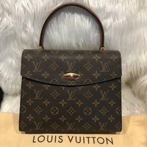 Authentic Louis Vuitton Malesherbes Bag **Rare!**